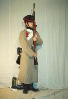 Пионер 3 роты II го пионерского полка (в-зимней шинели перед)